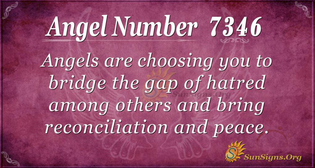 7346 angel number