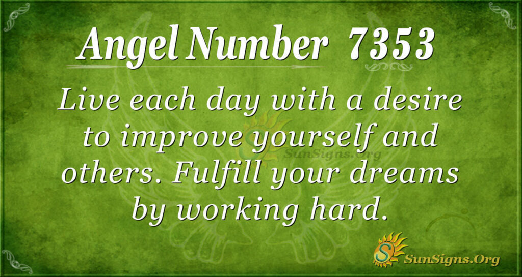 7353 angel number