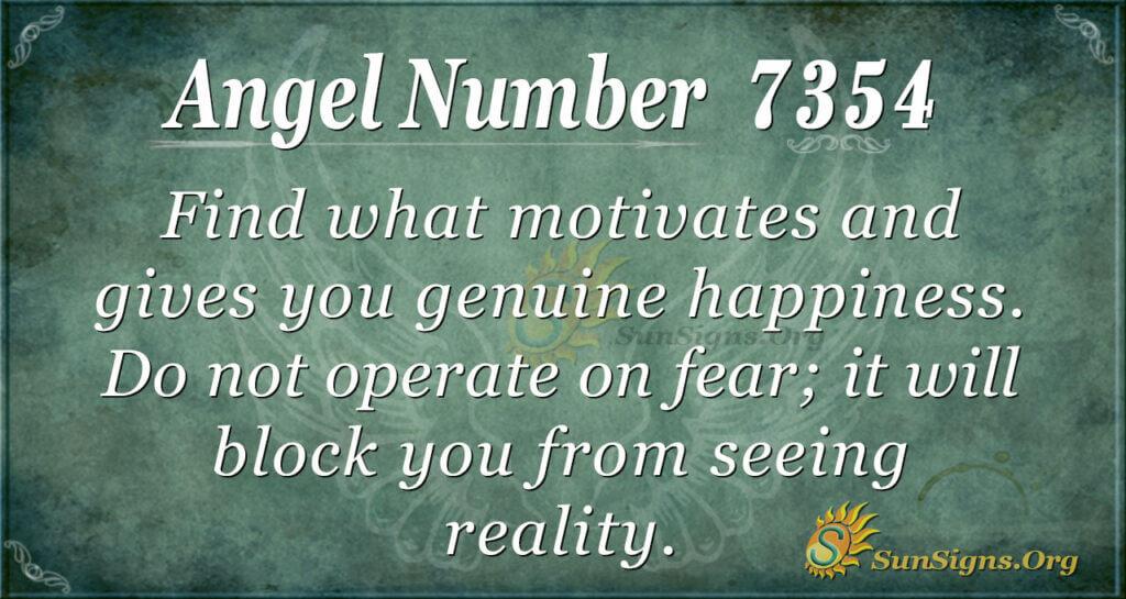 7354 angel number