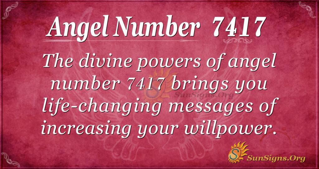7417 angel number