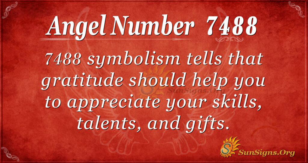 angel number 7488