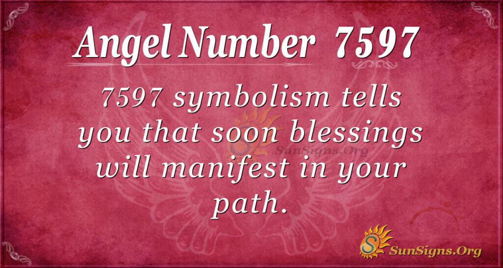 7597 angel number