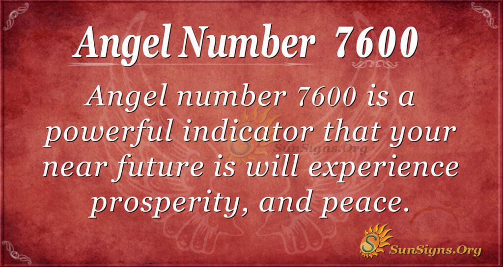 7600 angel number