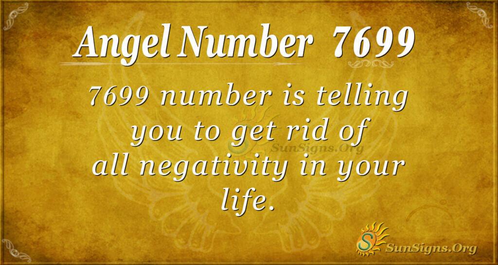 7699 angel number