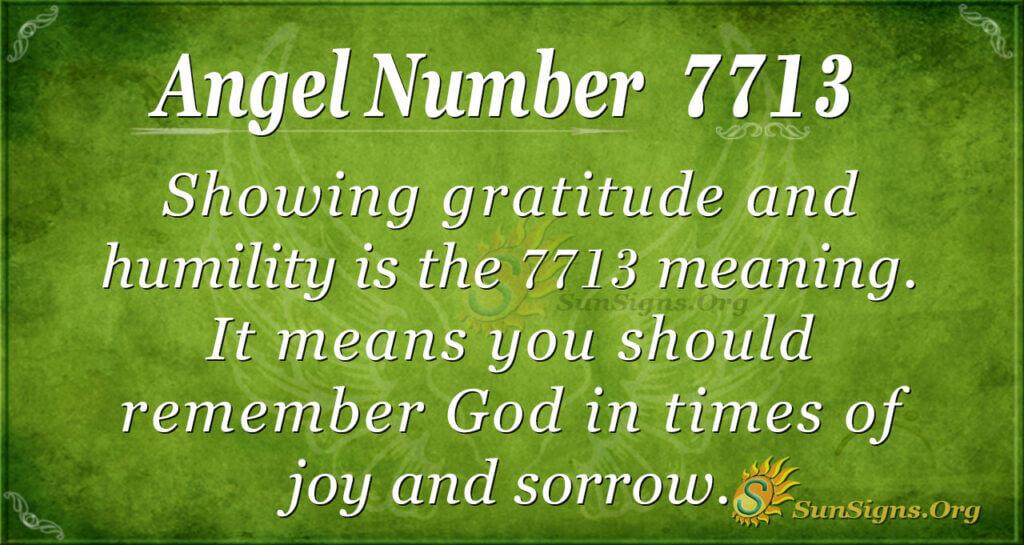 7713 angel number