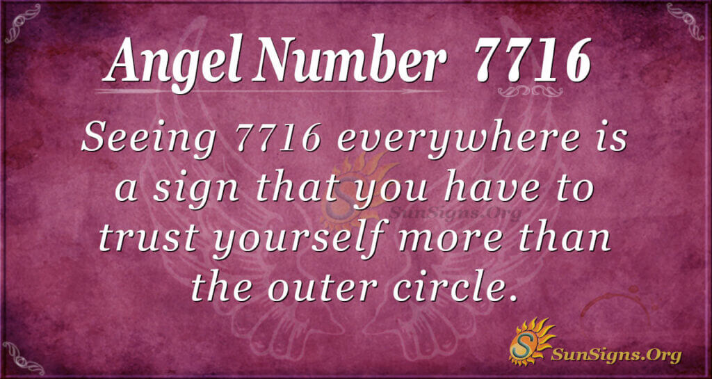 7716 angel number