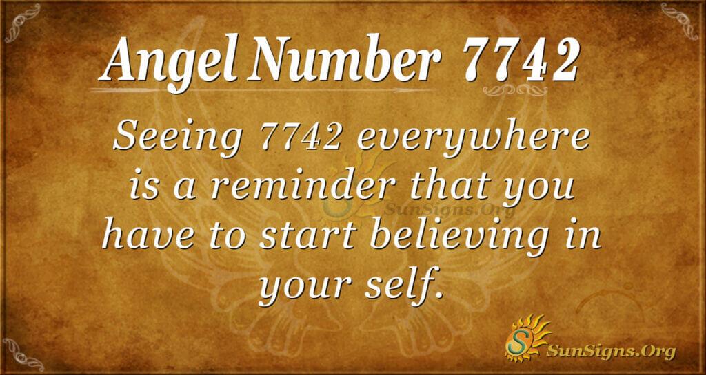 7742 angel number