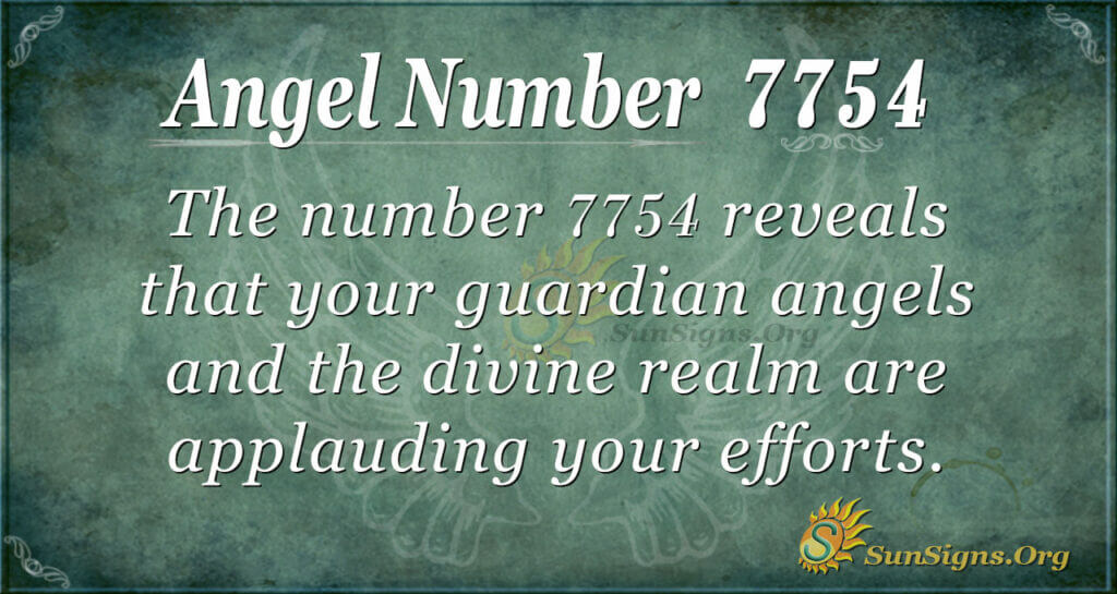 7754 angel number