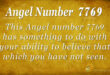 7769 angel number