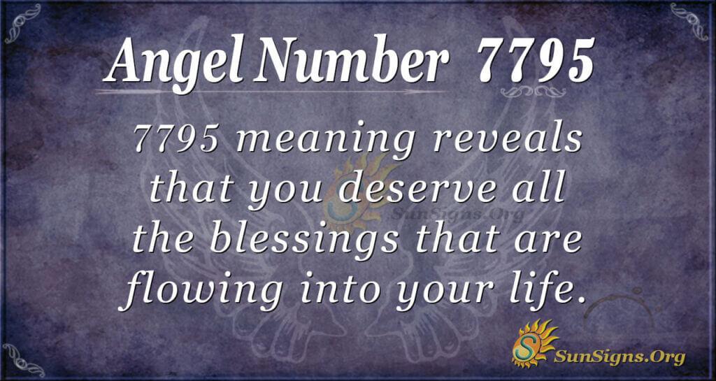 7795 angel number