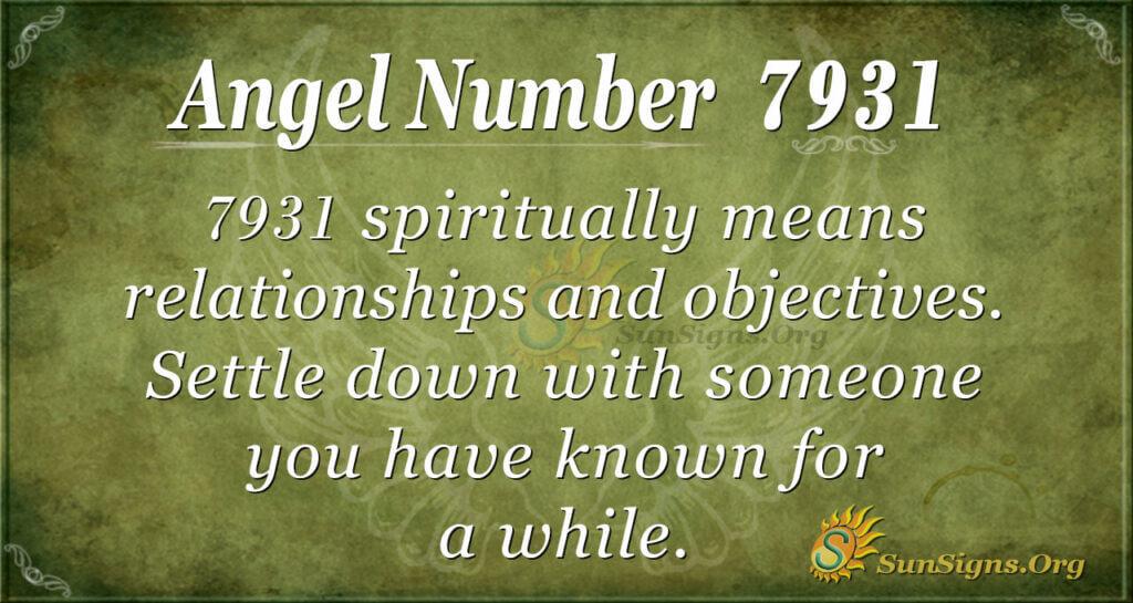 7931 angel number