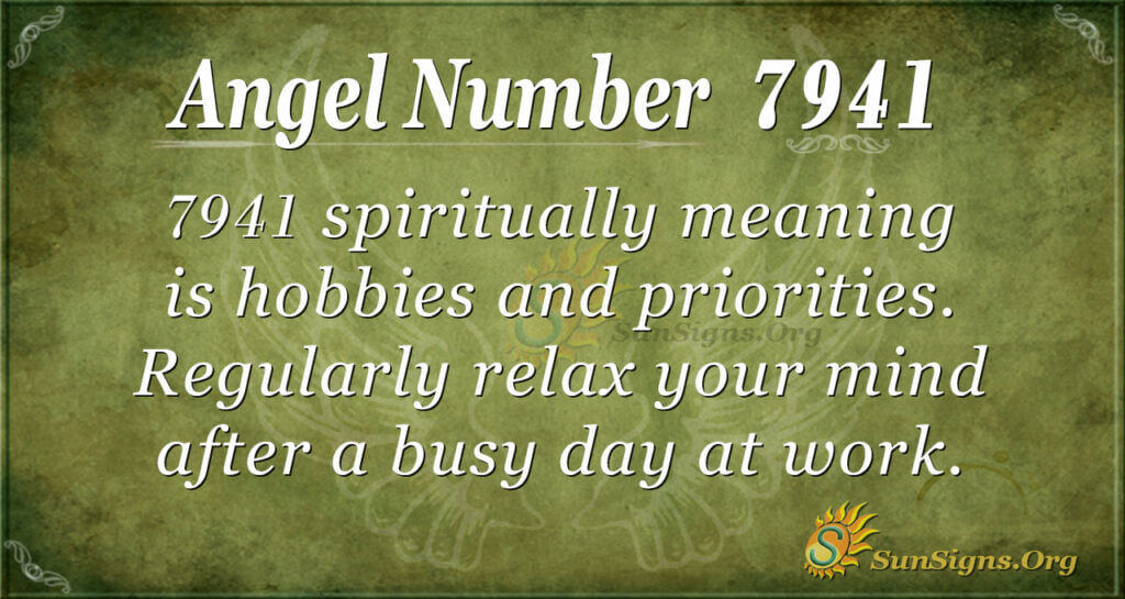 7941 angel number