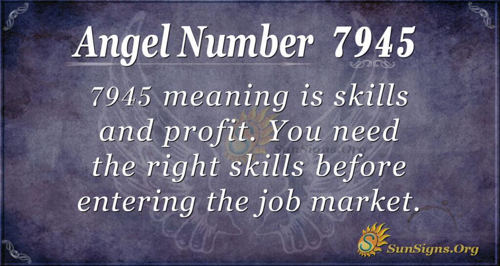 7945 angel number