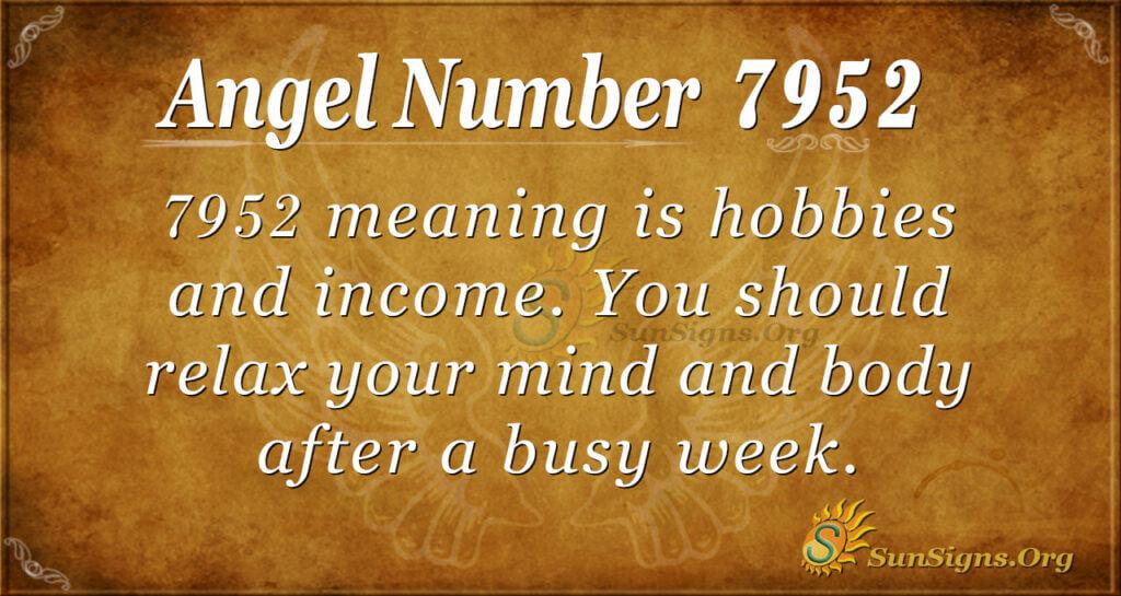 7952 angel number