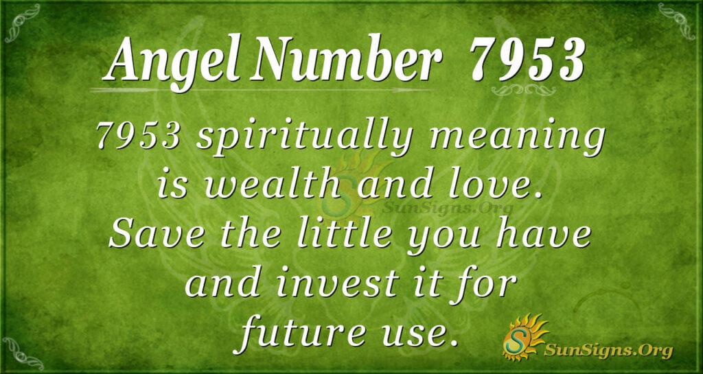7953 angel number