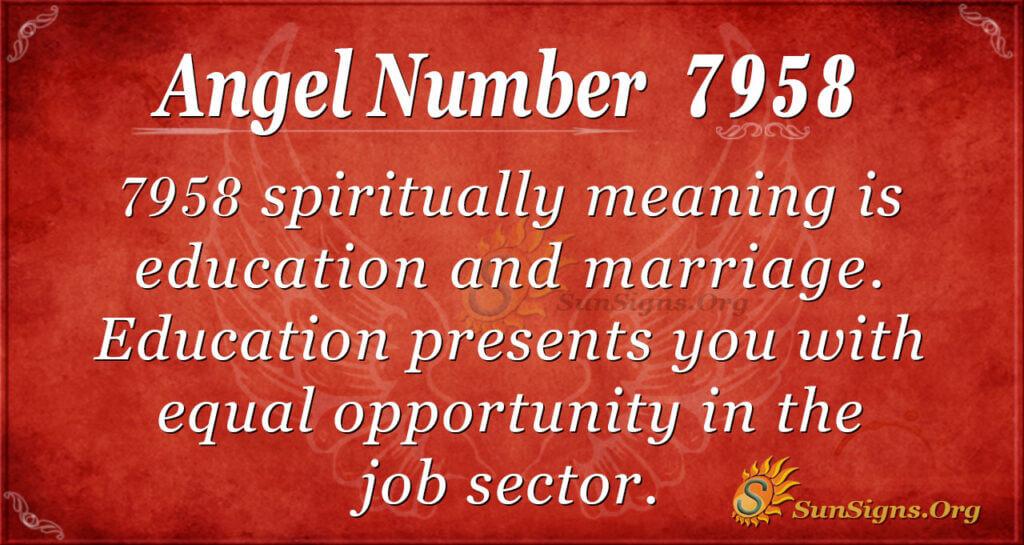 7958 angel number