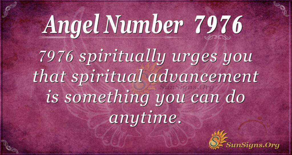 7976 angel number