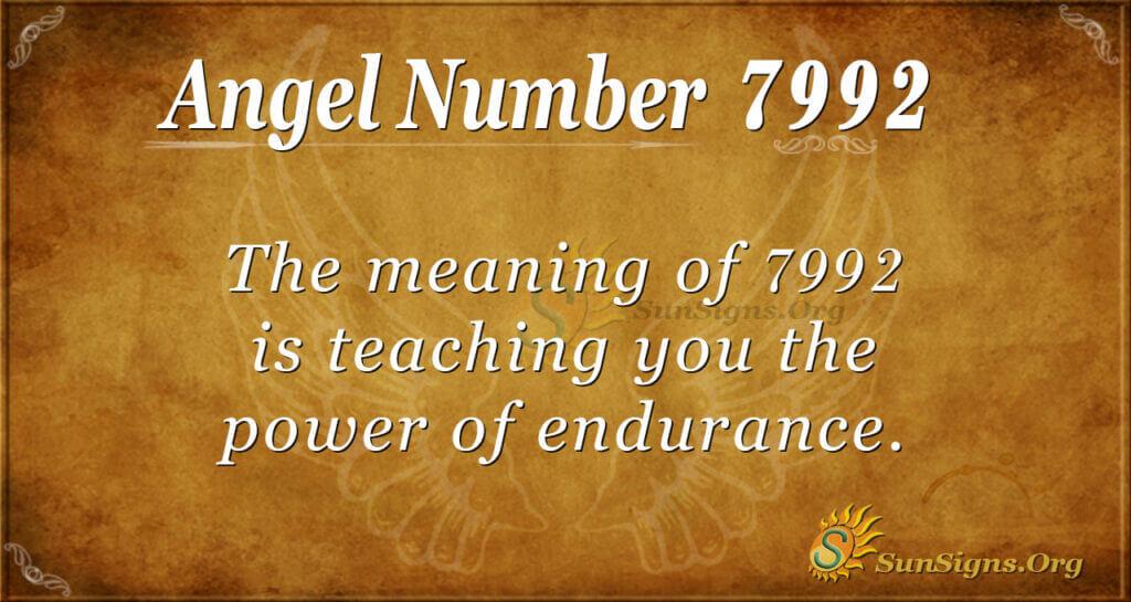 7992 angel number