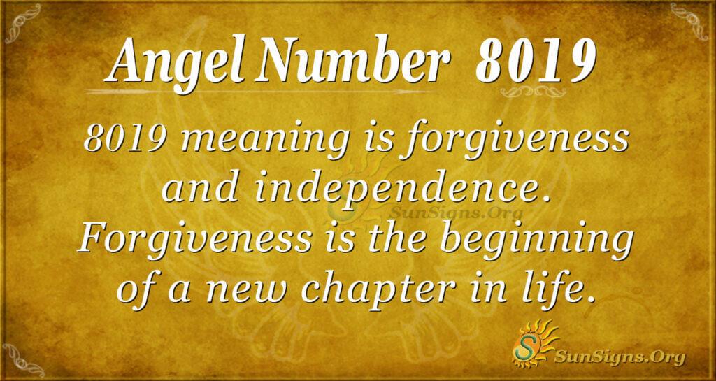 8019 angel number