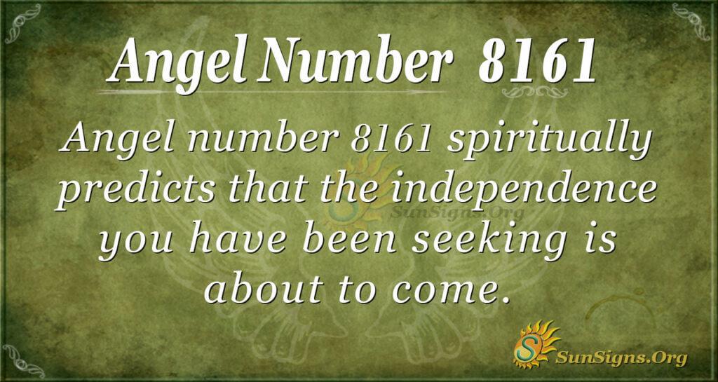 8161 angel number