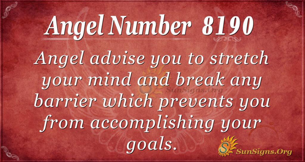 8190 angel number