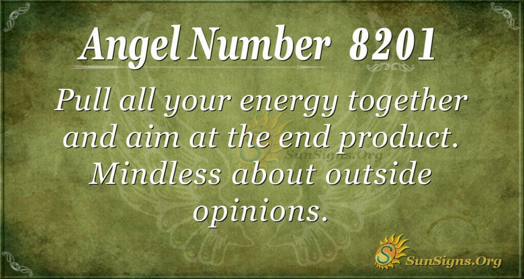 8201 angel number