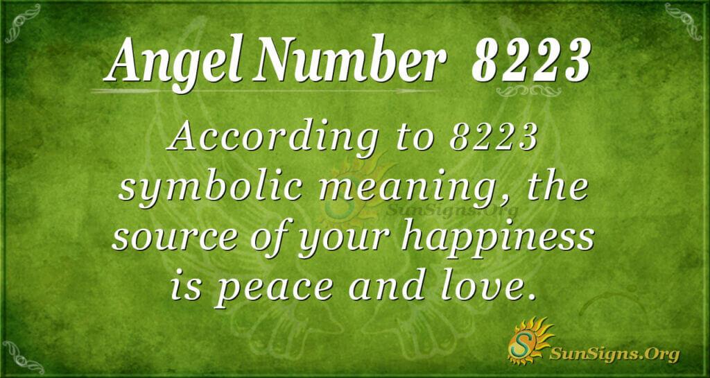 8223 angel number