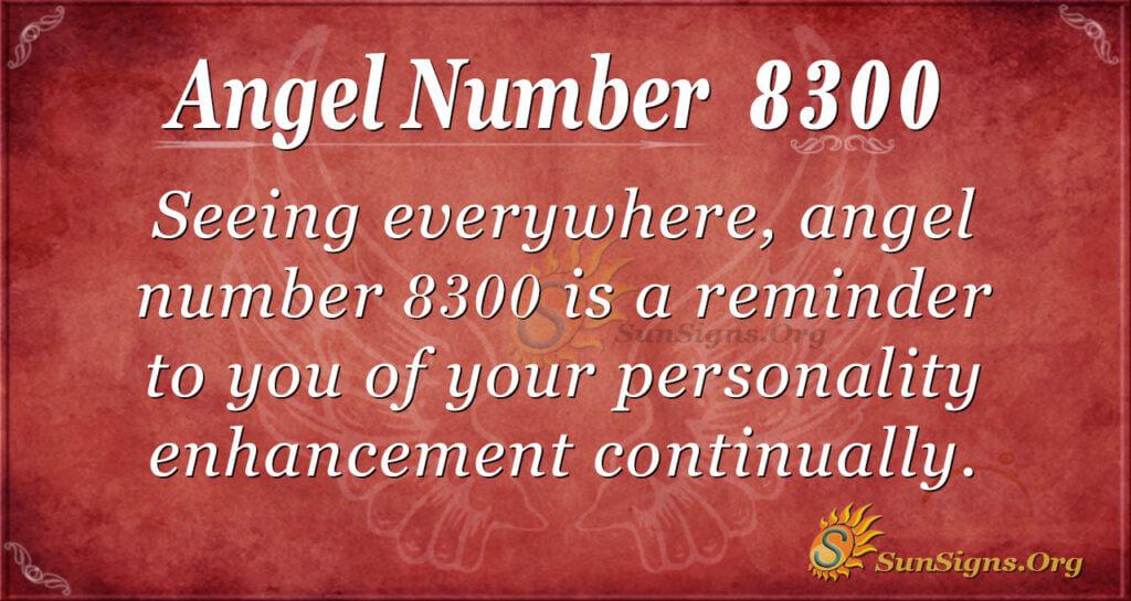 8300 angel number