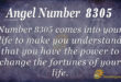 8305 angel number