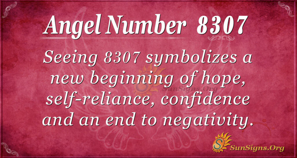 8307 angel number