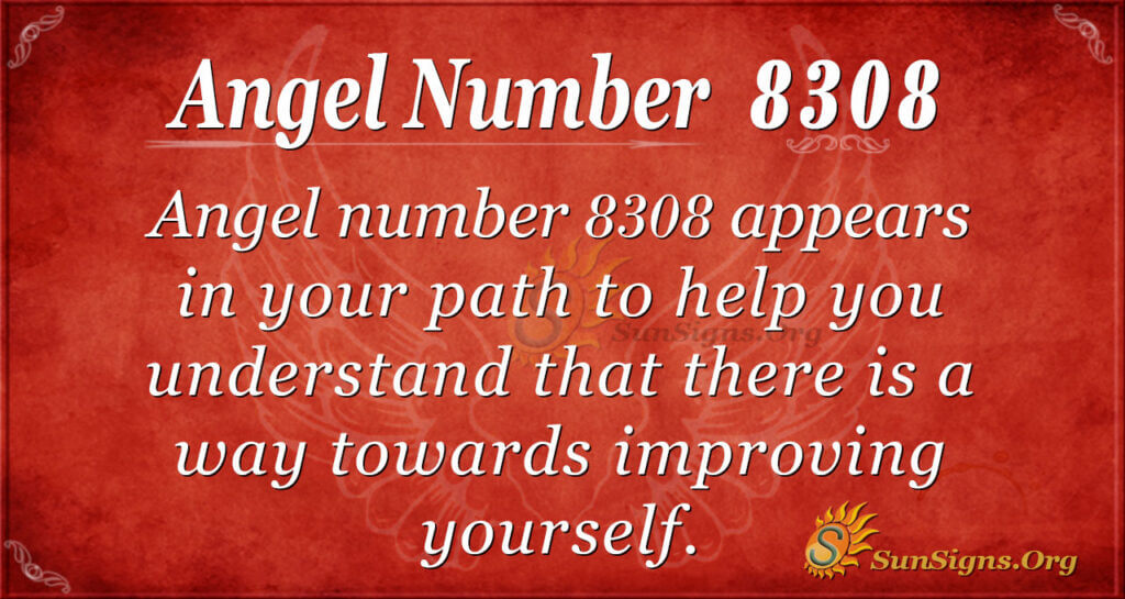 8308 angel number