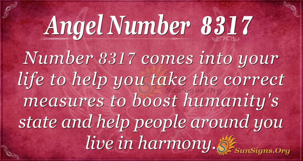 8317 angel number