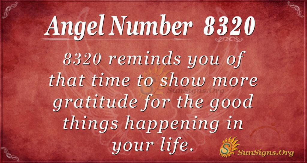 8320 angel number