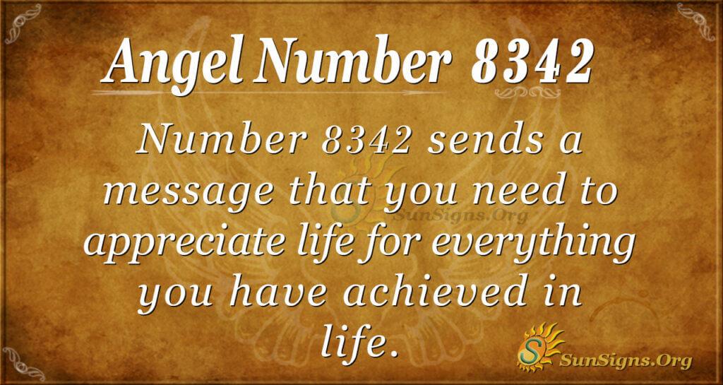 8342 angel number