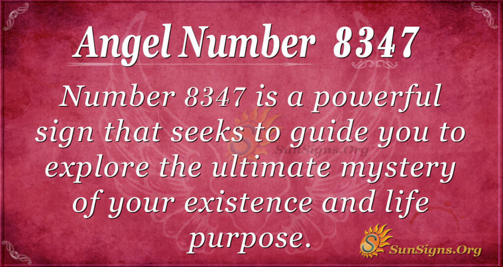 8347 angel number