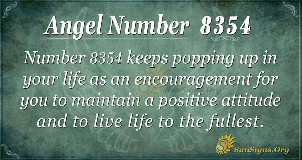 8354 angel number