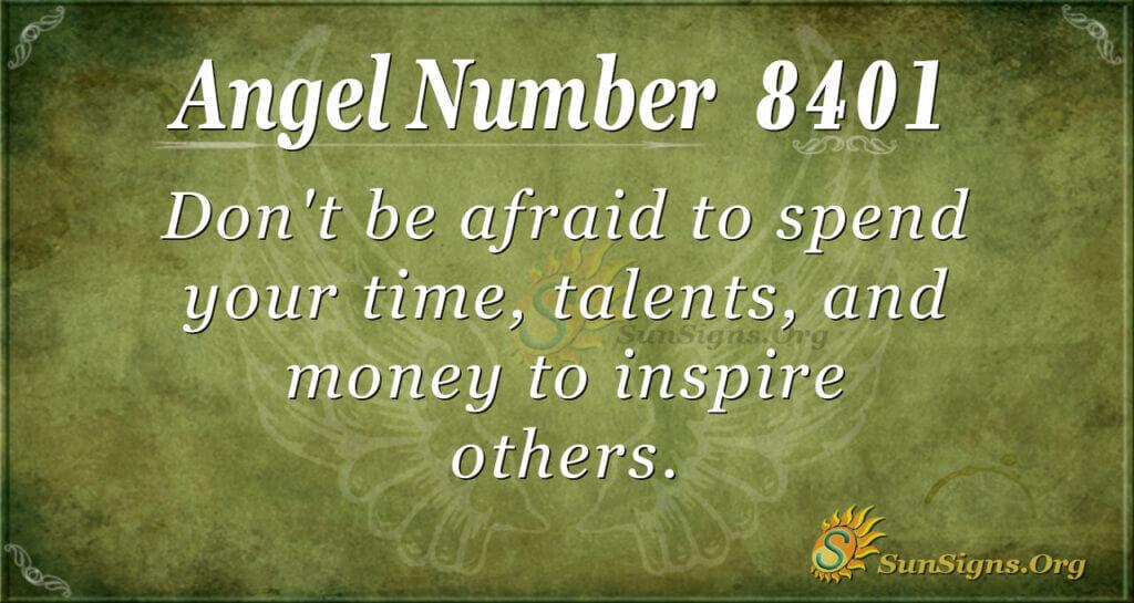 8401 angel number