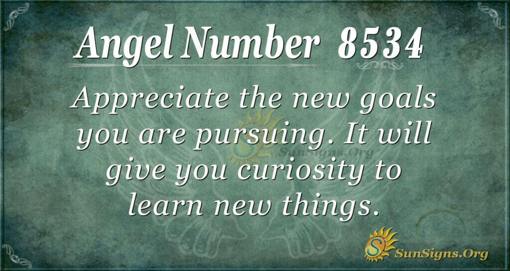 8534 angel number