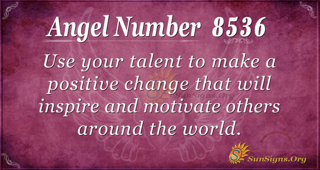8536 angel number