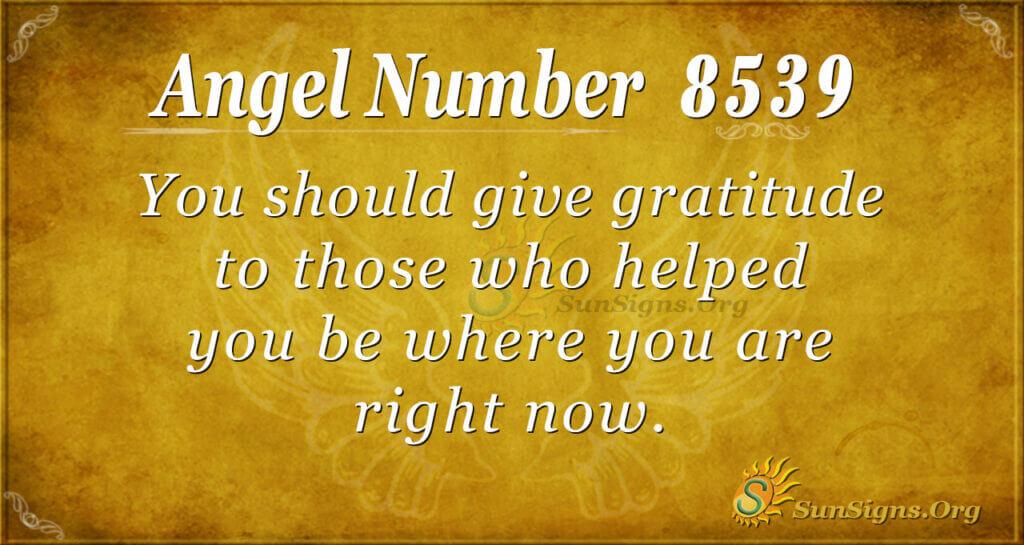8539 angel number