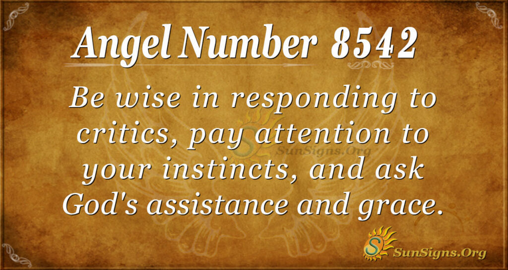 8542 angel number