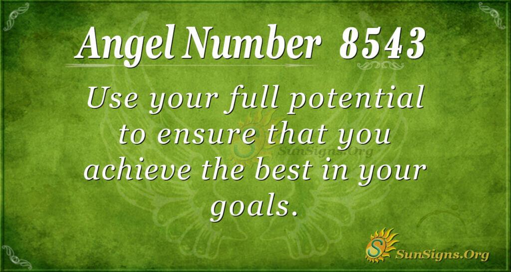 8543 angel number