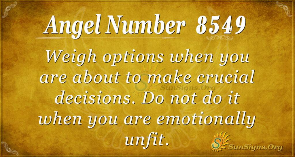 8549 angel number
