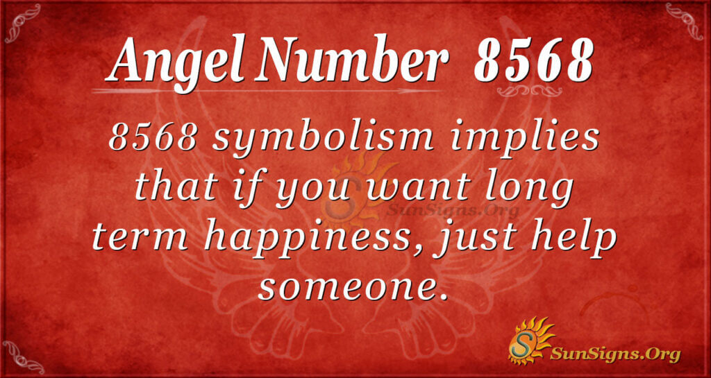 8568 angel number
