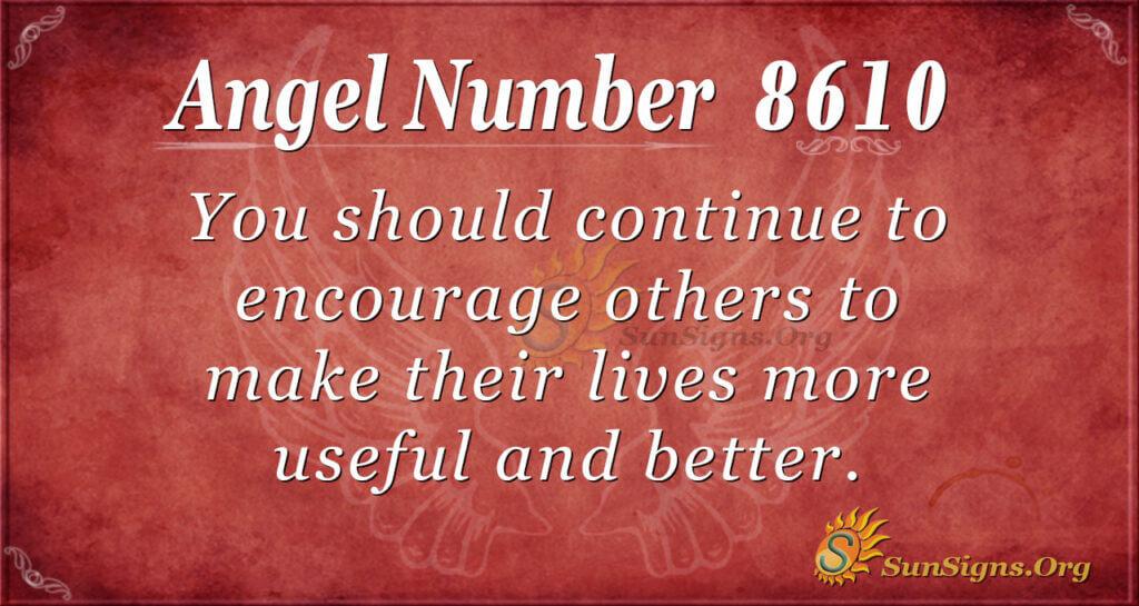 8610 angel number