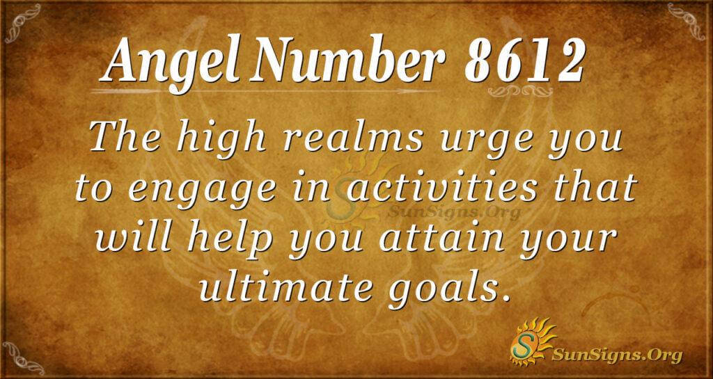 8612 angel number