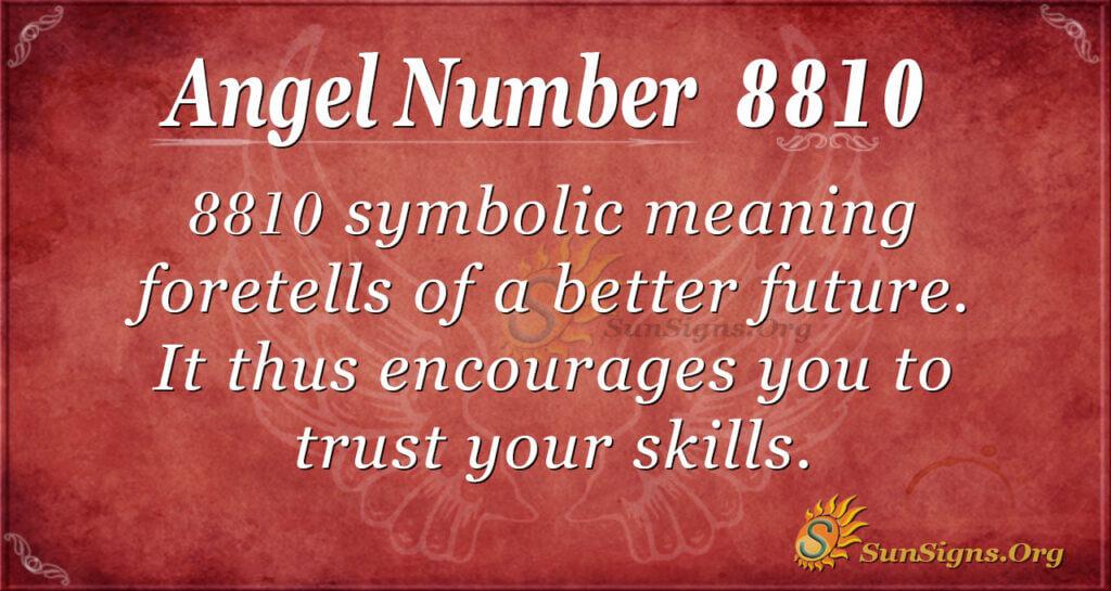 8810 angel number