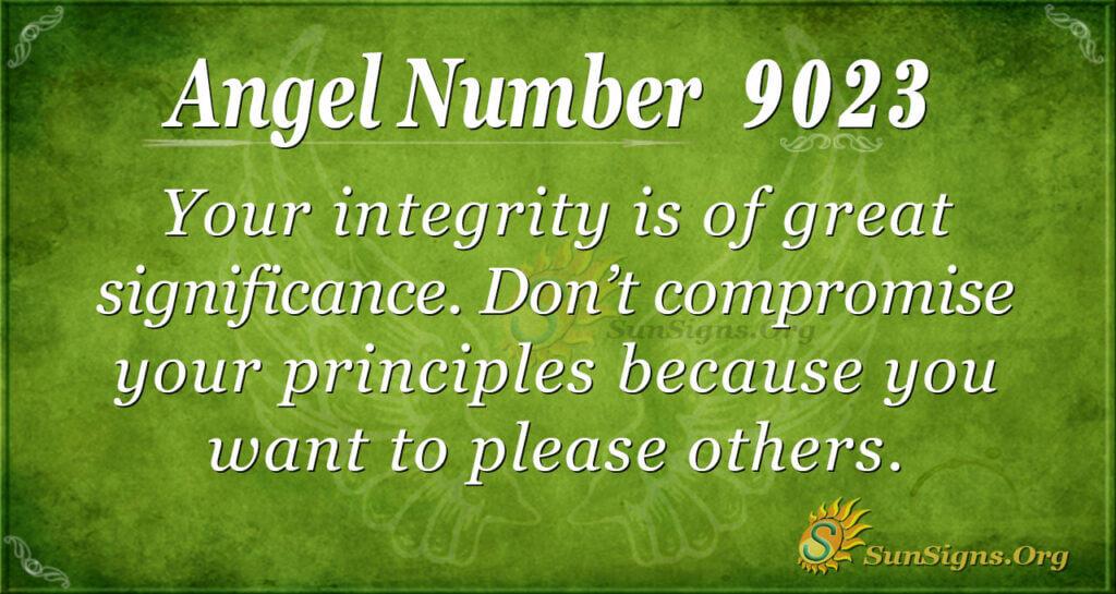 9023 angel number