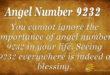 9232 angel number