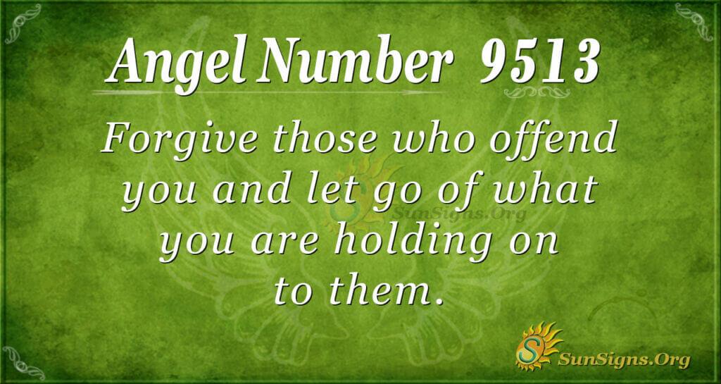 9513 angel number
